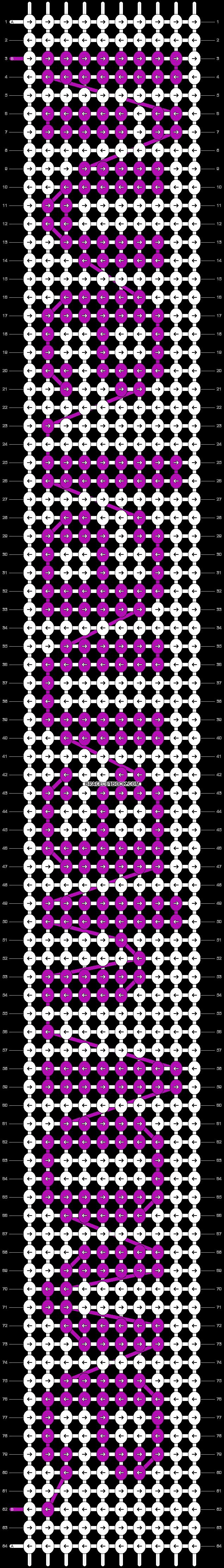Alpha pattern #6675 pattern