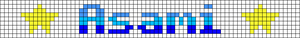 Alpha pattern #6676