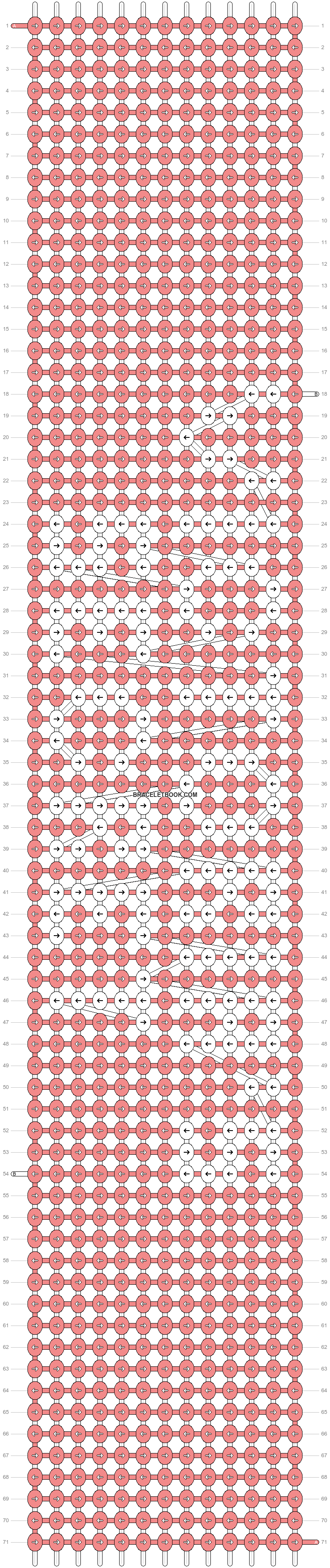 Alpha pattern #6679 pattern