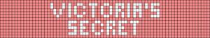 Alpha Friendship Bracelet Pattern #6679