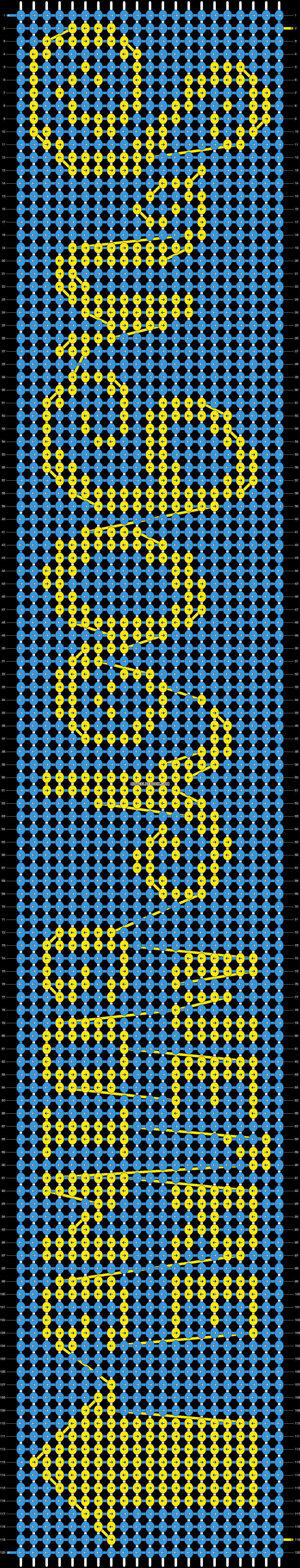 Alpha pattern #6680 pattern