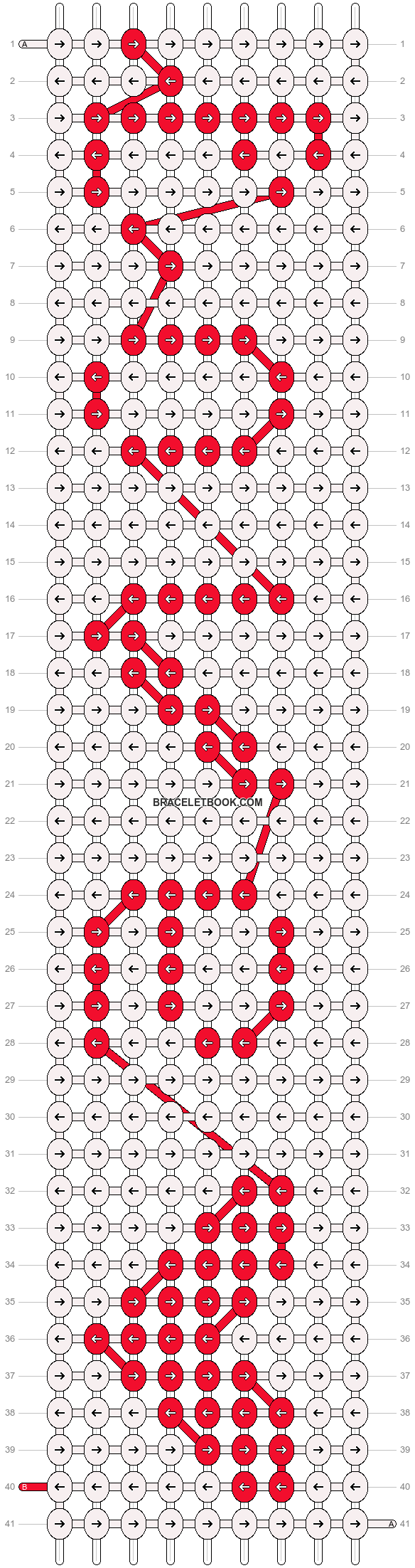 Alpha pattern #6683 pattern