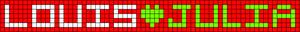 Alpha pattern #6687