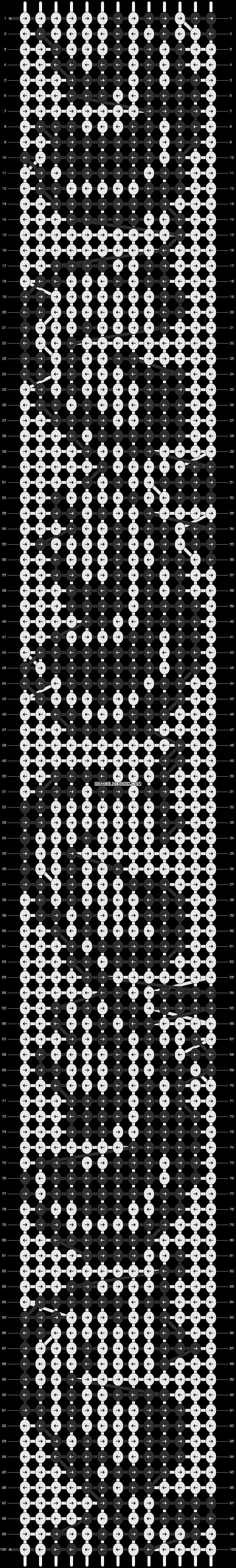 Alpha pattern #6690 pattern
