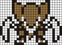 Alpha pattern #6696