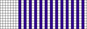 Alpha pattern #6698
