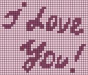 Alpha pattern #6699