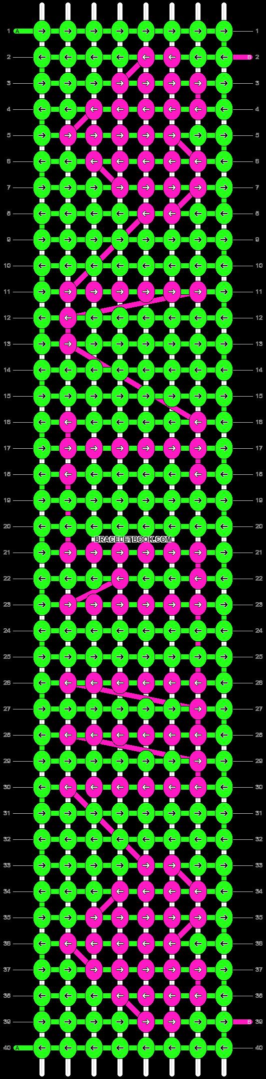 Alpha pattern #6711 pattern