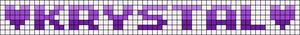 Alpha pattern #6713