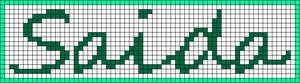 Alpha pattern #6715