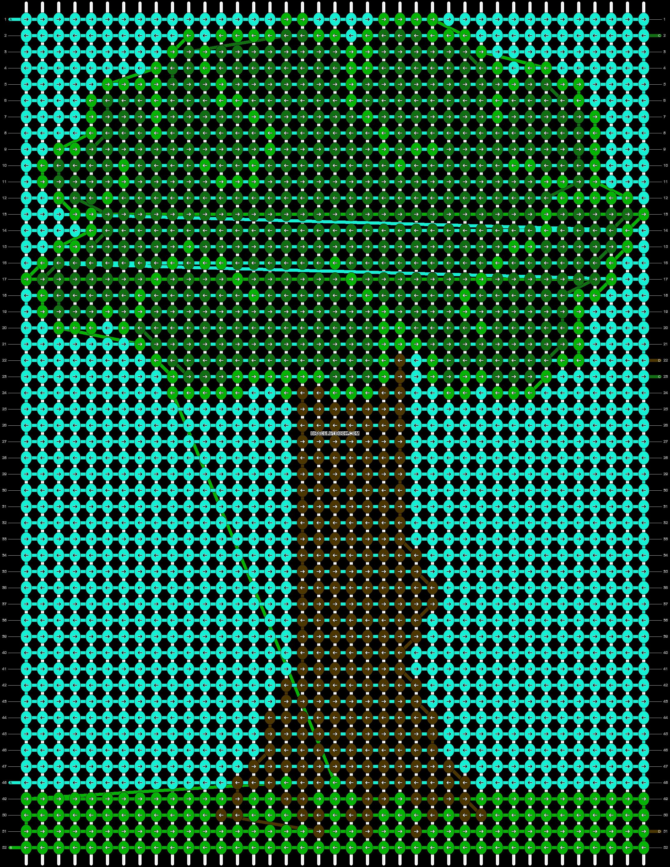 Alpha pattern #6717 pattern
