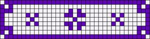 Alpha pattern #6718