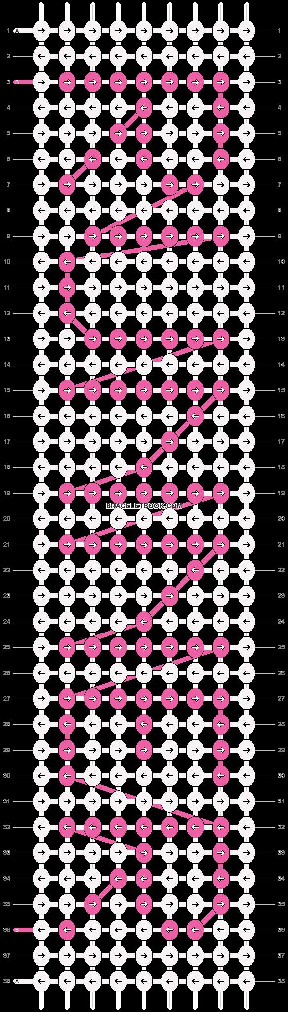 Alpha pattern #6719 pattern