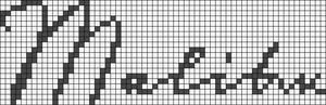 Alpha Friendship Bracelet Pattern #6729