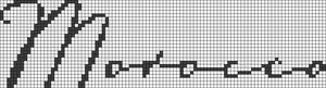 Alpha Friendship Bracelet Pattern #6733