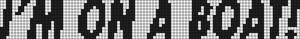 Alpha Friendship Bracelet Pattern #6735