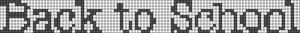 Alpha Friendship Bracelet Pattern #6736