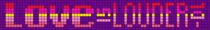 Alpha Friendship Bracelet Pattern #6738