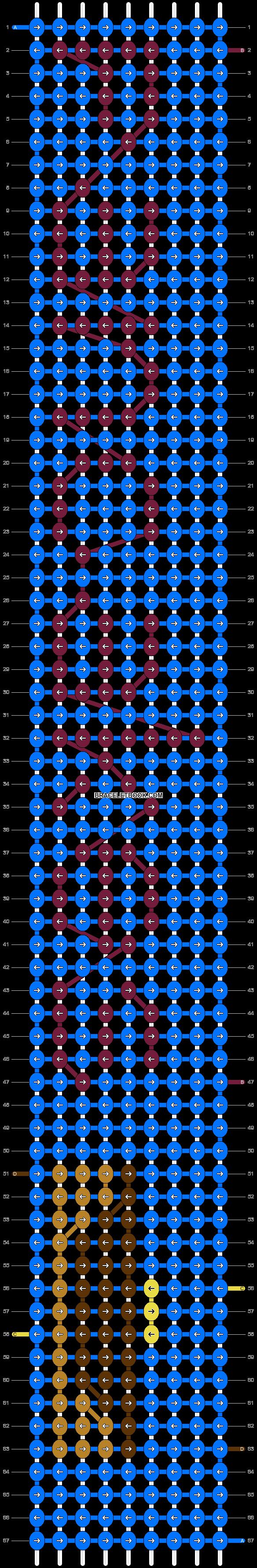 Alpha pattern #6739 pattern