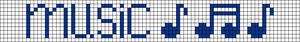 Alpha Friendship Bracelet Pattern #6740