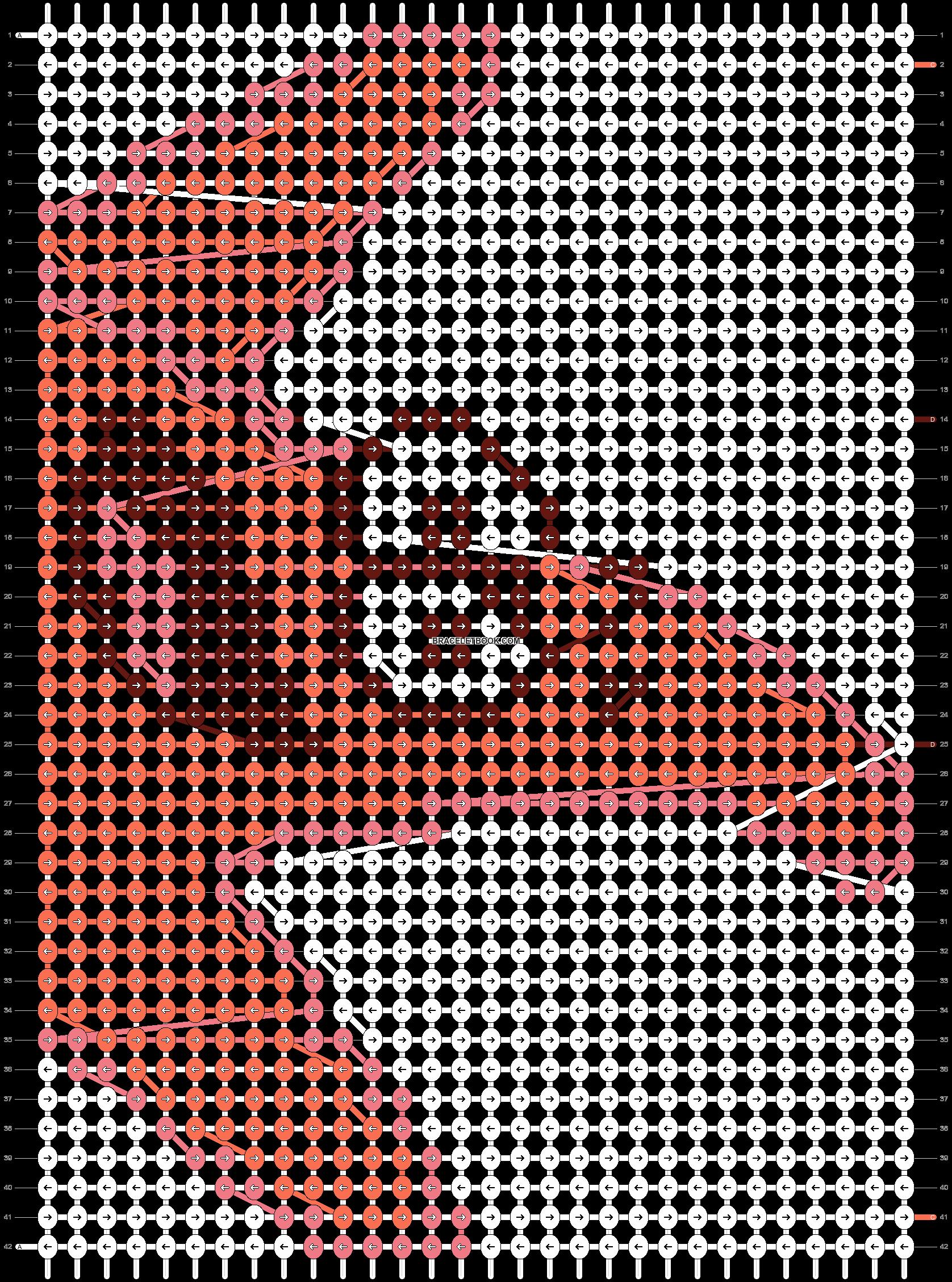 Alpha pattern #6750 pattern