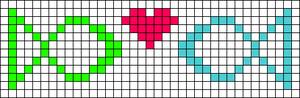 Alpha Friendship Bracelet Pattern #6756