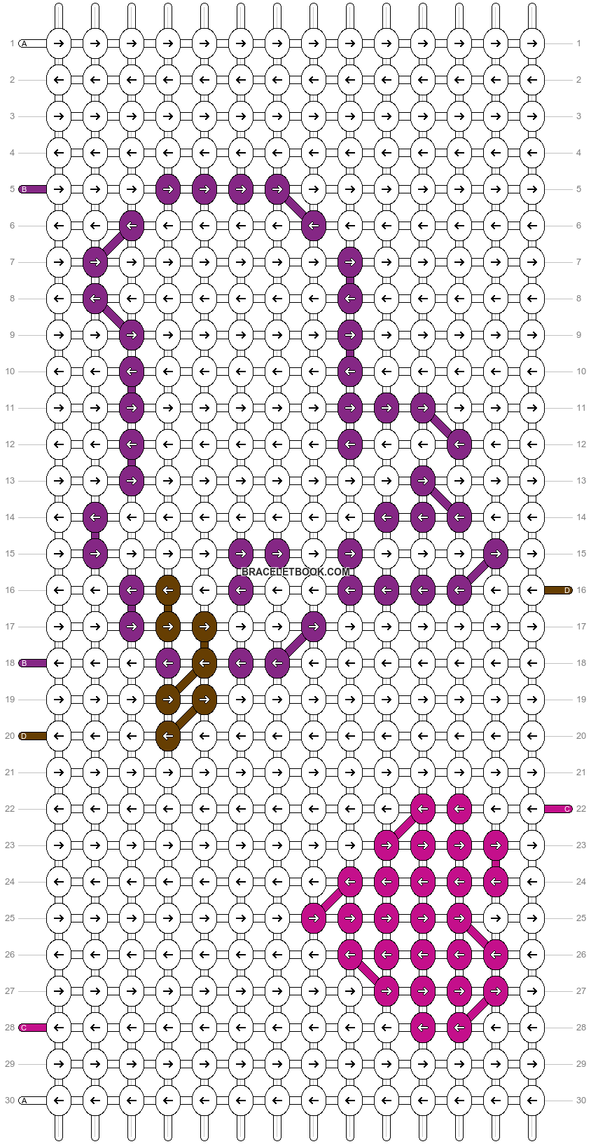 Alpha pattern #6759 pattern