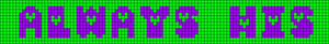 Alpha pattern #6764