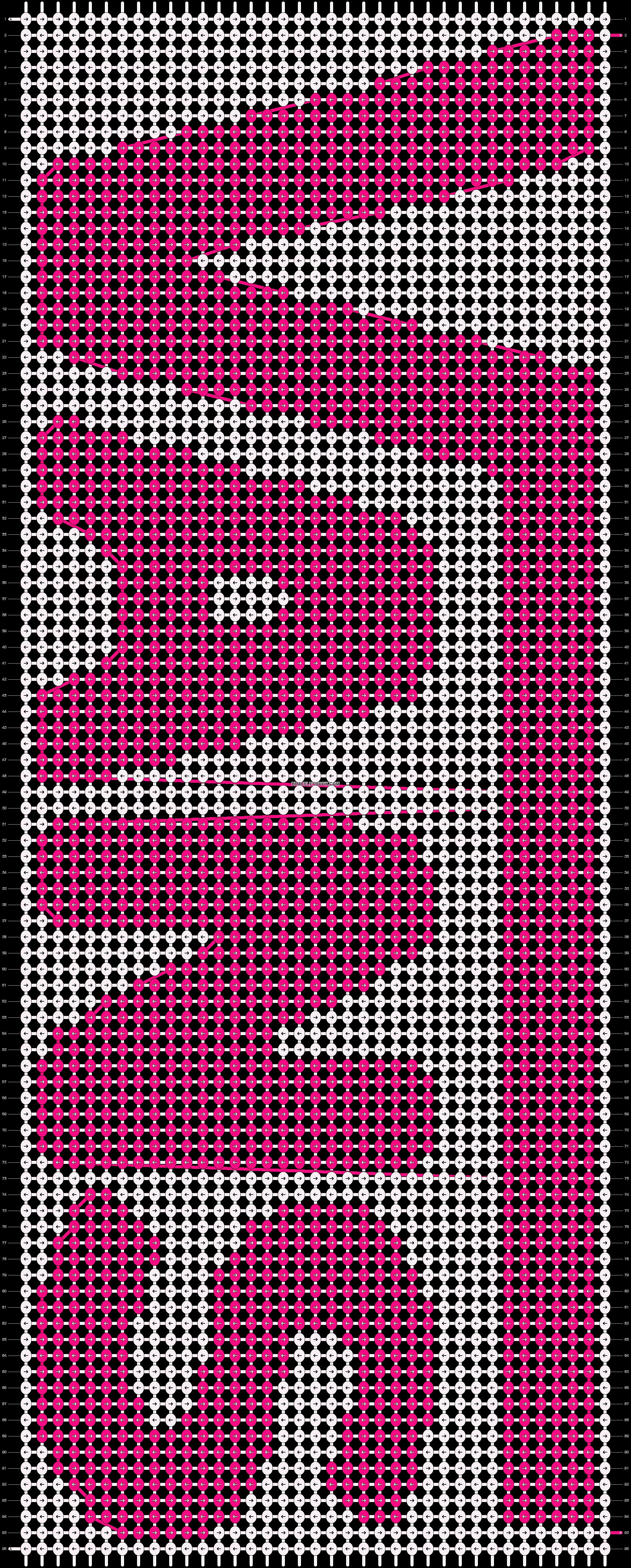 Alpha pattern #6765 pattern