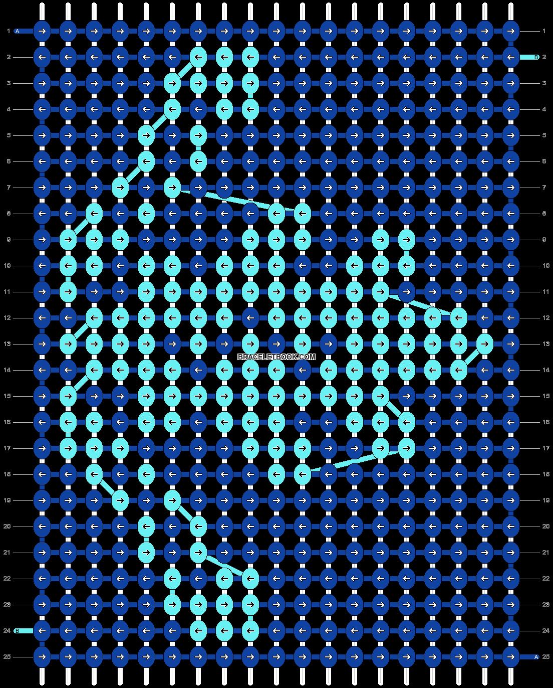 Alpha pattern #6767 pattern
