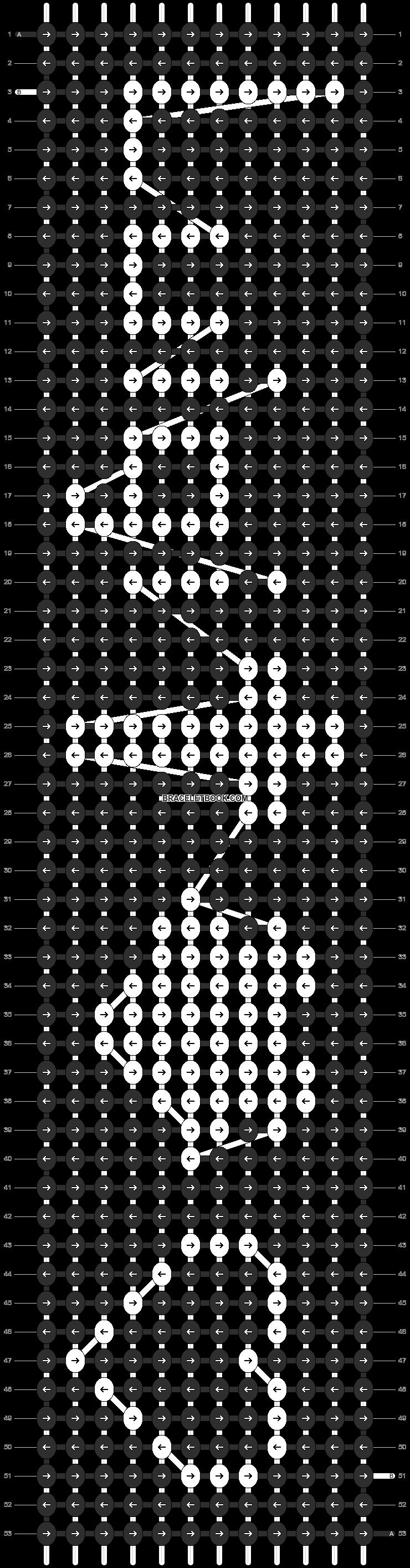 Alpha pattern #6770 pattern