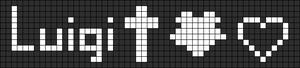 Alpha pattern #6770