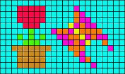 Alpha pattern #6778