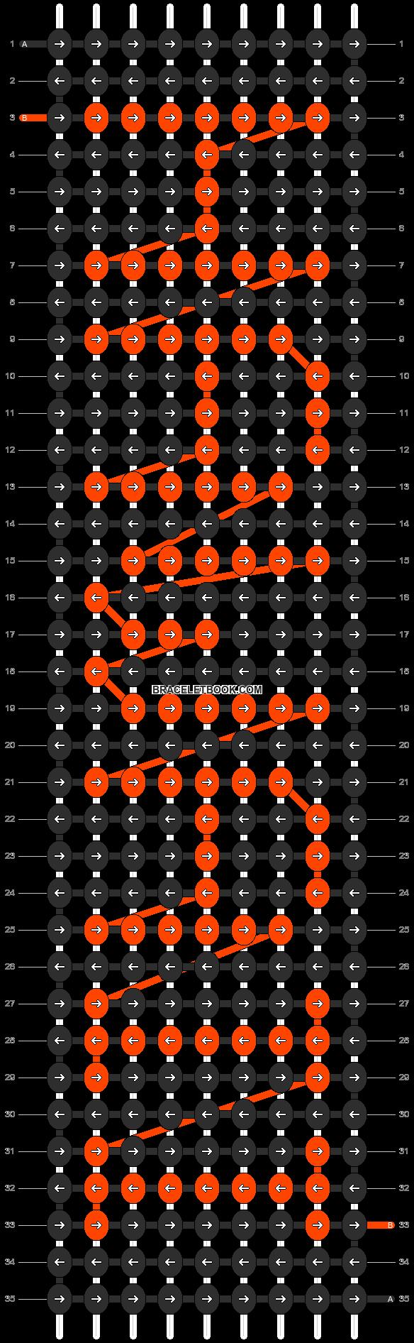 Alpha pattern #6780 pattern