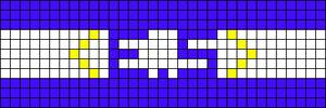 Alpha pattern #6787