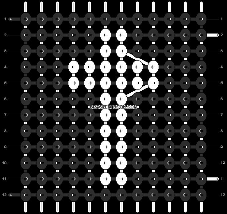 Alpha pattern #6790 pattern