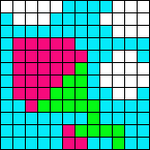 Alpha pattern #6791