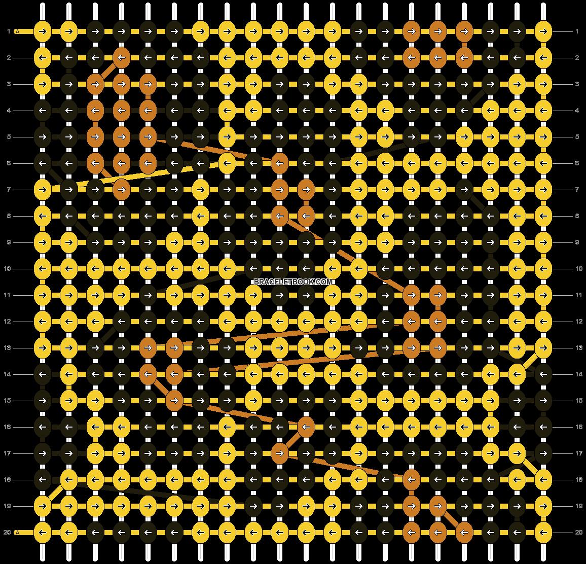 Alpha pattern #6792 pattern