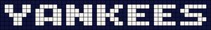 Alpha Friendship Bracelet Pattern #6793