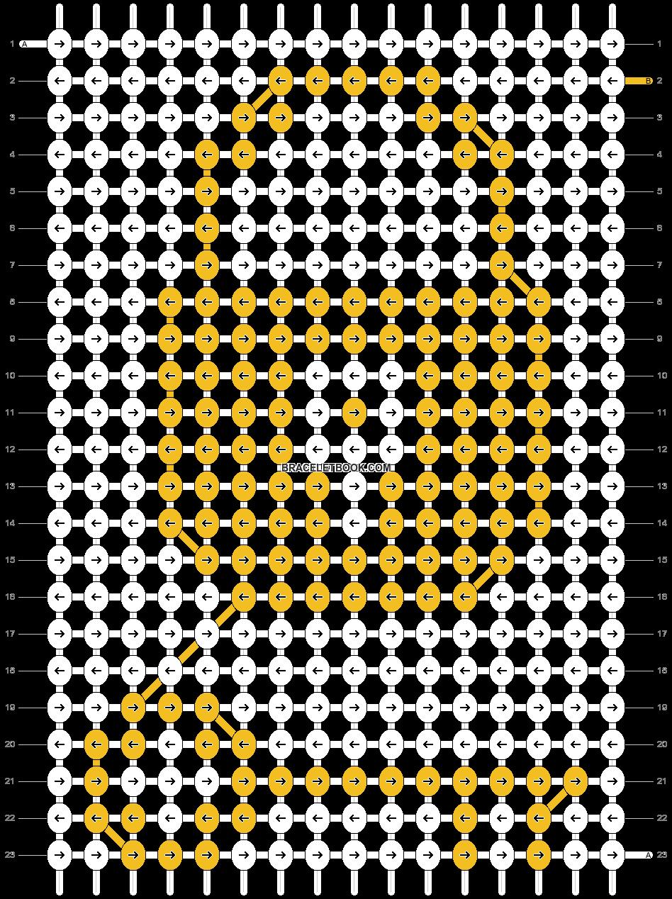 Alpha pattern #6794 pattern