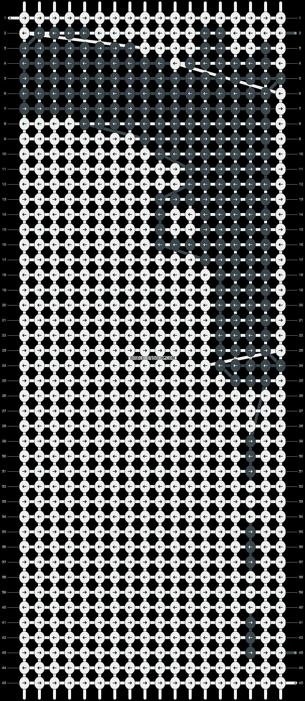 Alpha pattern #6798 pattern