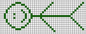 Alpha pattern #6799