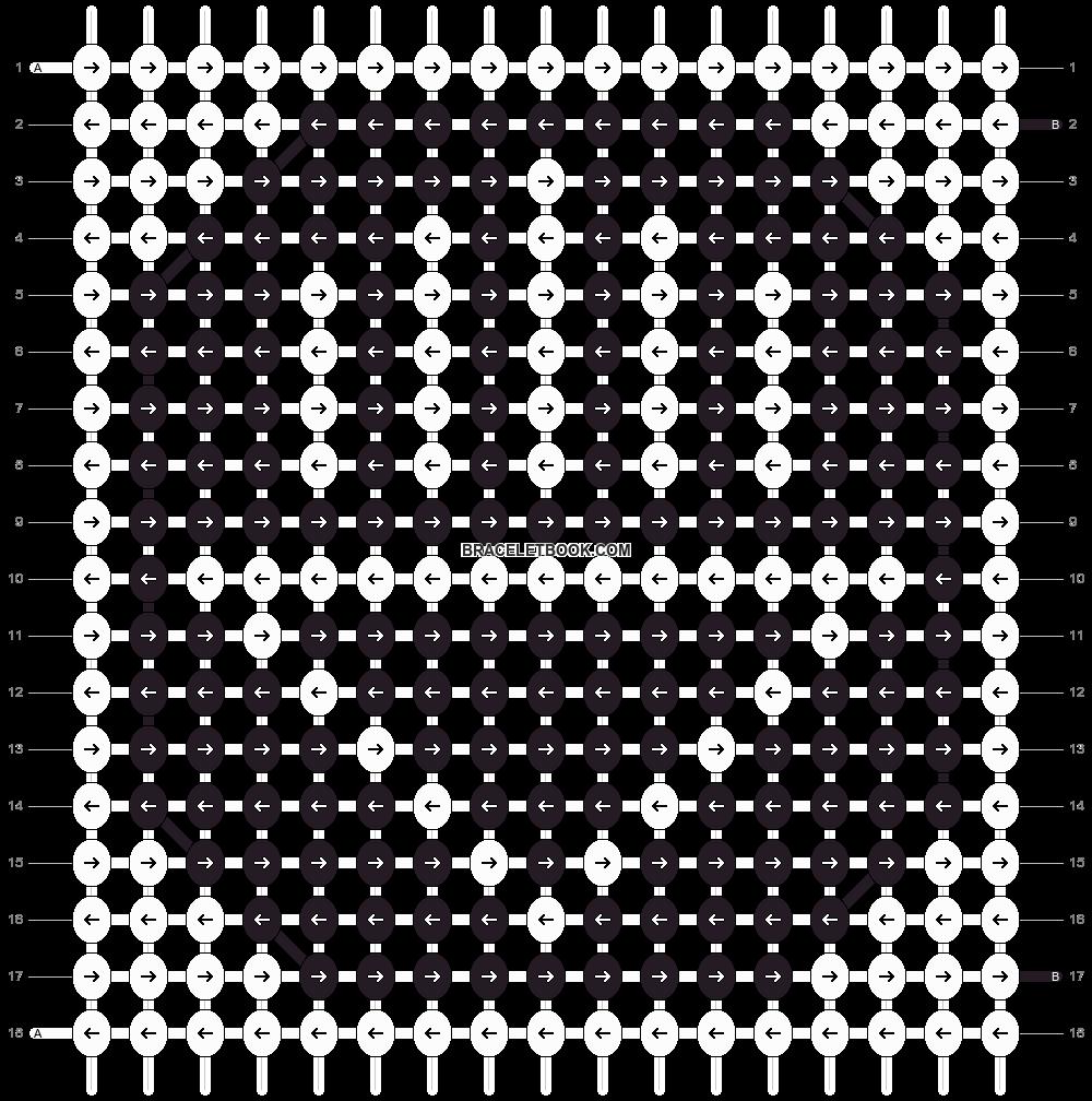 Alpha pattern #6800 pattern