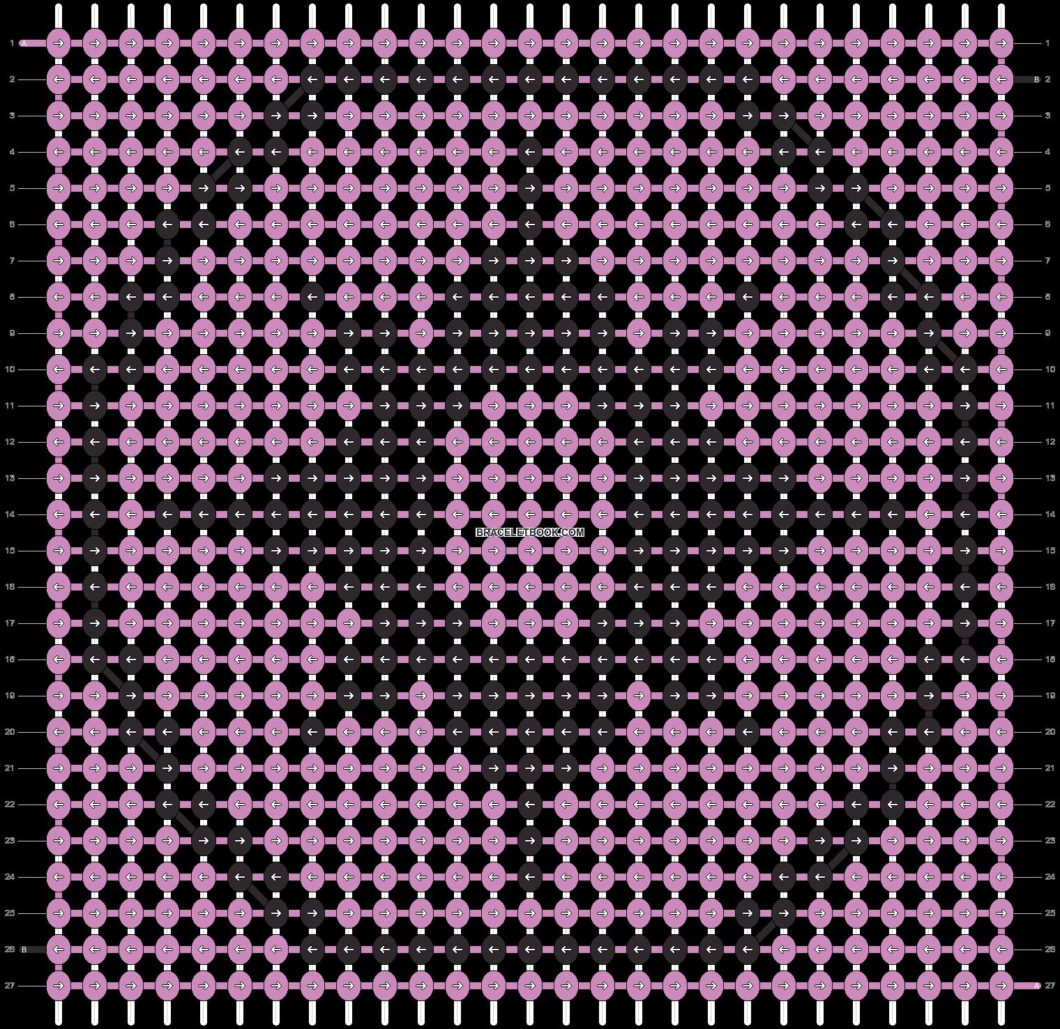 Alpha pattern #6803 pattern