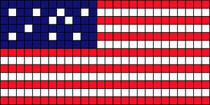 Alpha pattern #6804