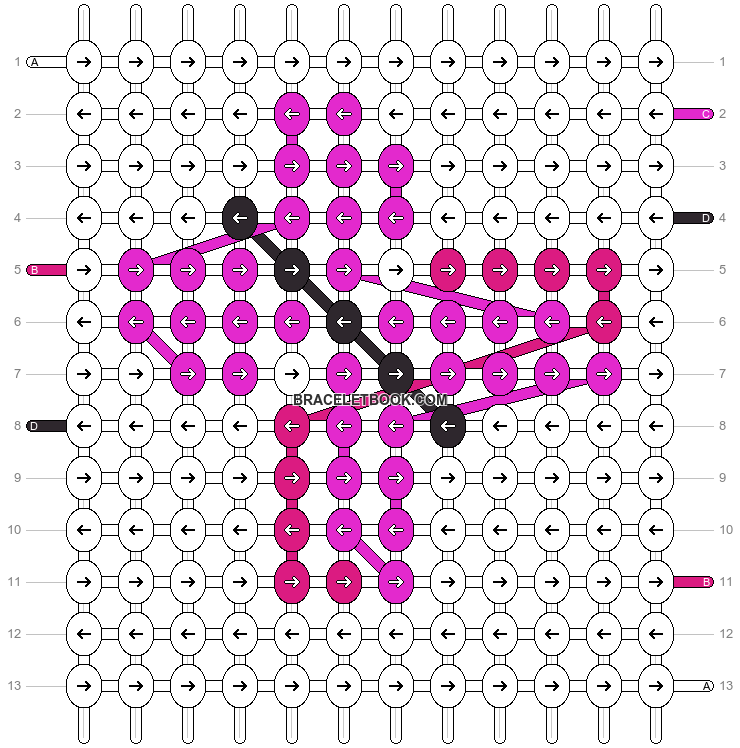 Alpha pattern #6807 pattern