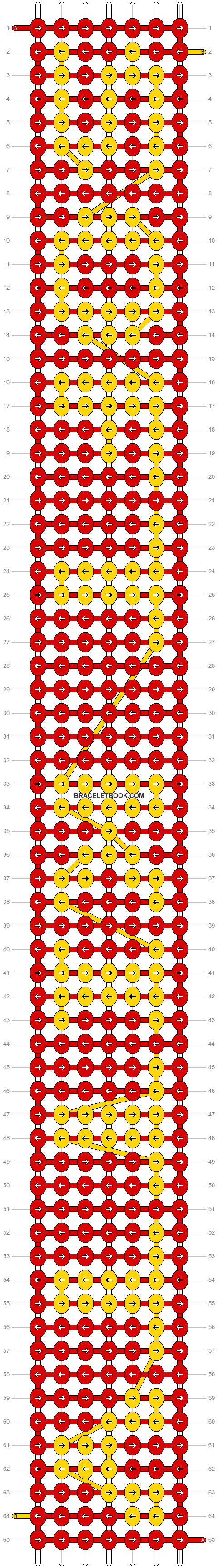 Alpha pattern #6811 pattern
