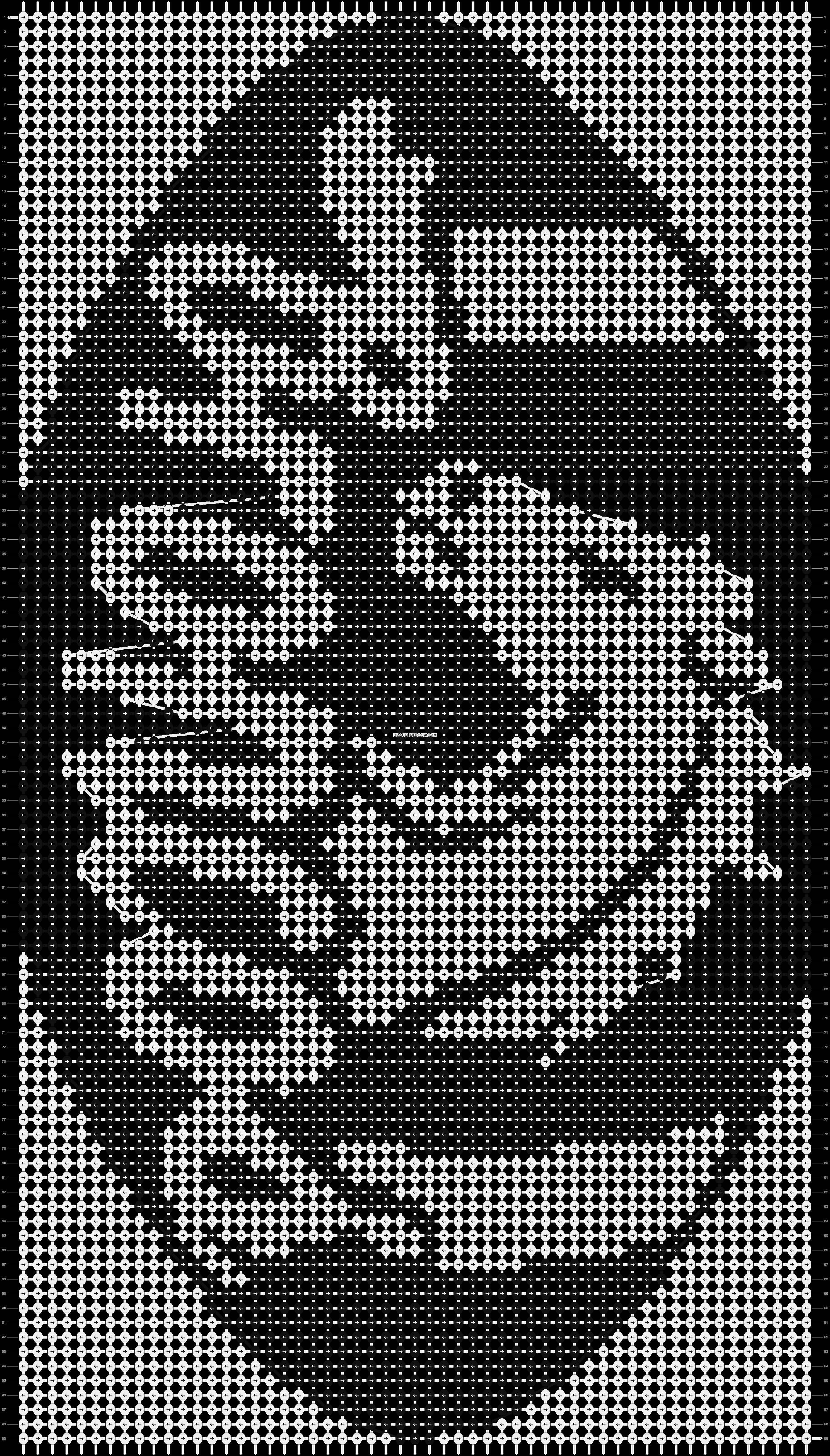 Alpha pattern #6814 pattern