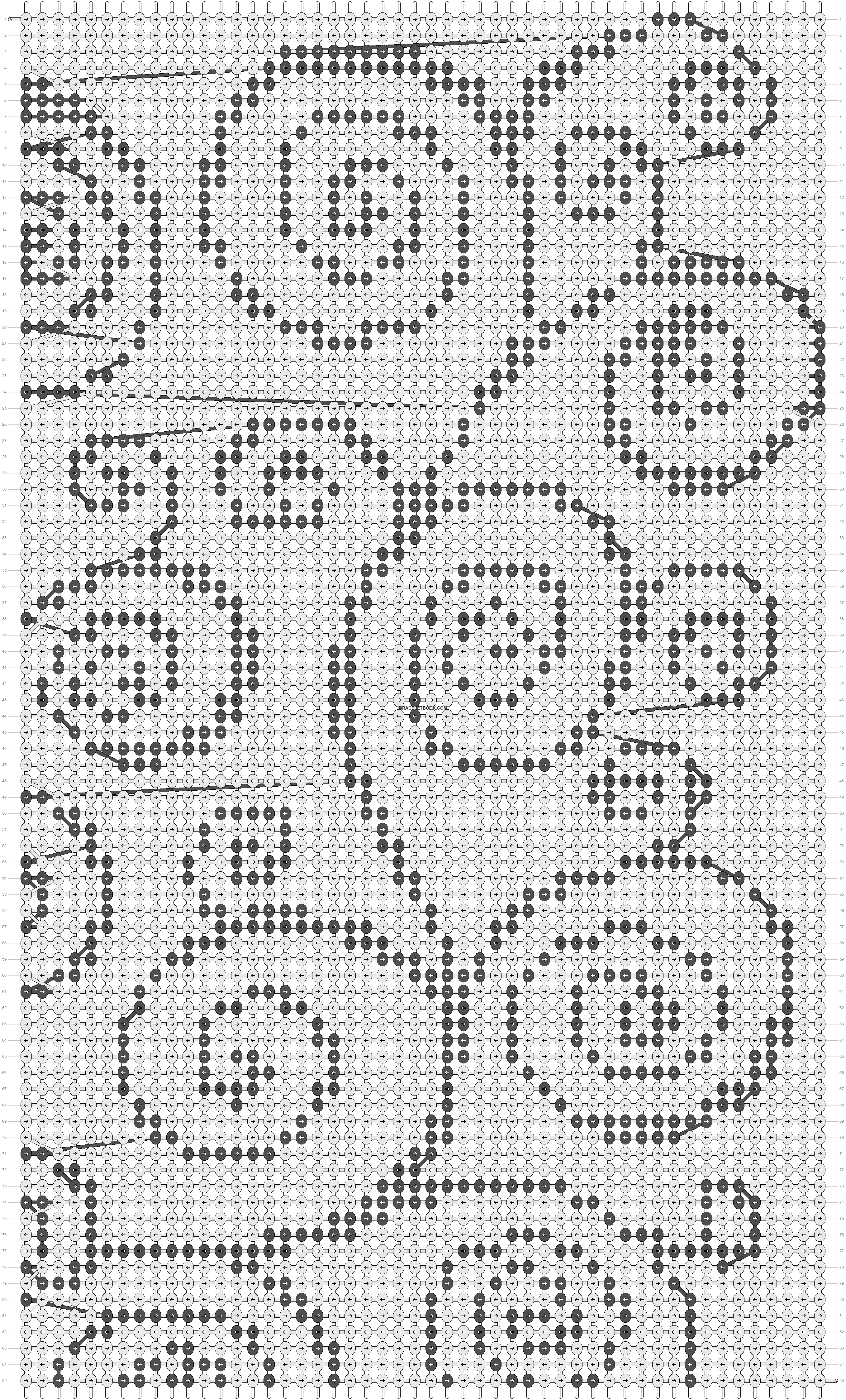 Alpha pattern #6815 pattern