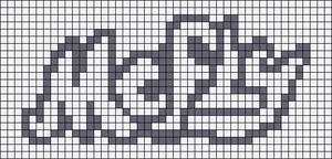 Alpha pattern #6820